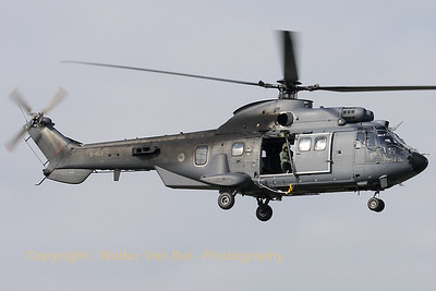 RNLAF AS-532U2 Cougar-Mk2 (S-453; cn2453) at Nato Tiger Meet 2010.