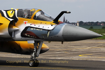 A Mont de Marsan based Mirage 2000-5F from ECE 5.330 with special c/s for the 50th Nato Tiger Meet, this year at Cambrai.