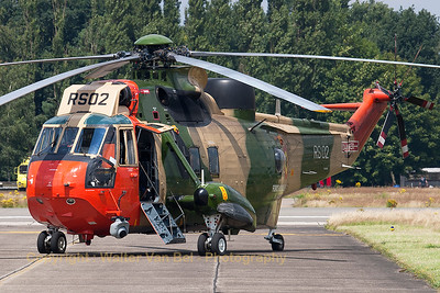 "Belgian Air Force Sea King Mk48 (RS02; cnWA832), ready for another mission, during the ""OIE2007""-spottersday at KB."
