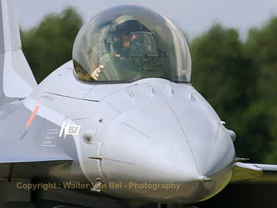 Close-up of the Belgian F-16AM (FA-131, cn 6H-131) Solo Display - piloted by Mickey Artiges - during the spottersday & OIE-2007 at Kleine Brogel AFB.