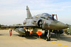 French Air Force Mirage 2000D (611 / 3-JG, cn 406) - from EC2/3 - on the ramp of Florennes AFB, prior to the final mission of this TLP2006-5 session.