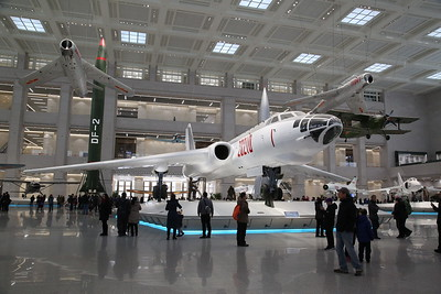 The aviation hall is dominated by this - Xian H-6, 20210, Chinese-built version of the Soviet Tupolev Tu-16 'Badger' twin-engine jet bomber - 20/01/18.