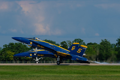 Blue Angels Max Angle Takeoff