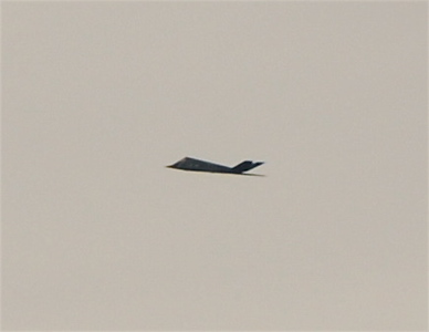 F-117 Stealth Fighter spotted Near El Paso, Texas.