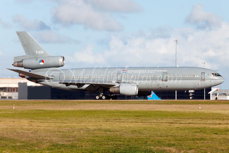 Dutch (Royal Netherlands) Air Force DC-10 visiting Melbourne on 18 June 2011, Rego: T-255.