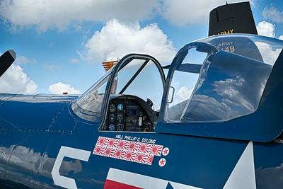 F4U Corsair Cockpit