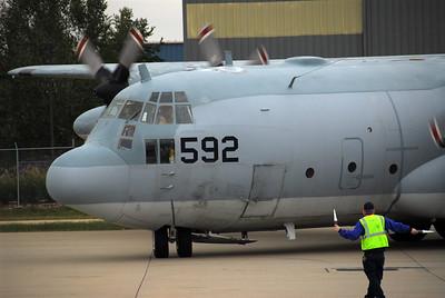 C-130 in Louisville, Kentucky.