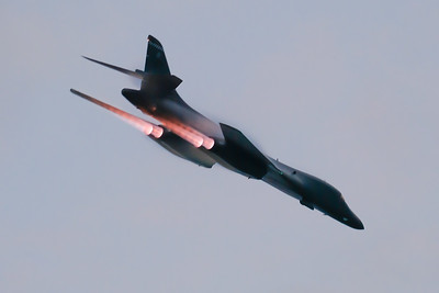 B-1B Afterburner Pass