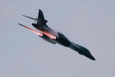 B-1B Afterburner Pass