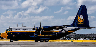 Fat Albert Airlines C-130 Herculesat the NAS Miramar Air Show in San Diego_TOM8521-Edit