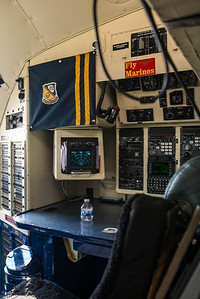 Photo of the Navigators station on the C-130T Hercules Fat Albert at the NAS Miramar Airshow 2012._DSC2284
