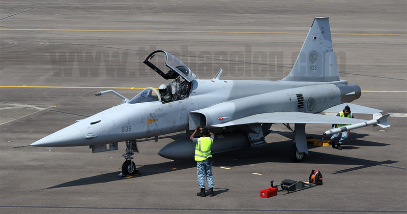 Republic of Singapore Air Force Northrop F-5S Tiger II