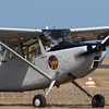 Cessna O-1 Bird Dog VH-FXY at the Point Cook Air Pageant, Victoria, Australia on 24 Feb 2008.