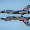 USAF Thunderbird Mirror Pass