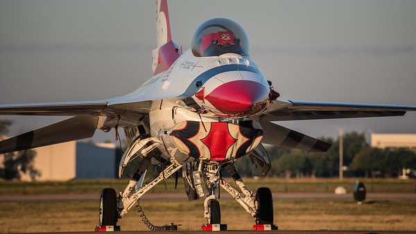 USAF Thunderbird Morning
