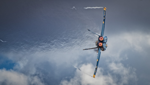 US NAVY Blue Angel Afterburner