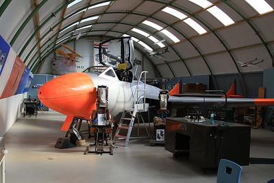 De Havilland DH-115 Sea Vampire T.22, XA109, Montrose Air Station - 17/09/16.