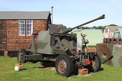 Bofors L40/70 anti-aircraft gun, Montrose Air Station - 17/09/16.