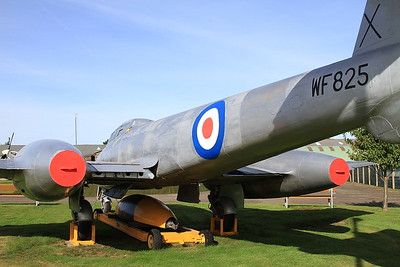 Gloster Meteor T.7, WF825, Montrose Air Station - 17/09/16.