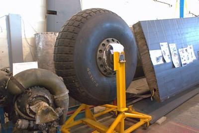 A big wheel in aviation history