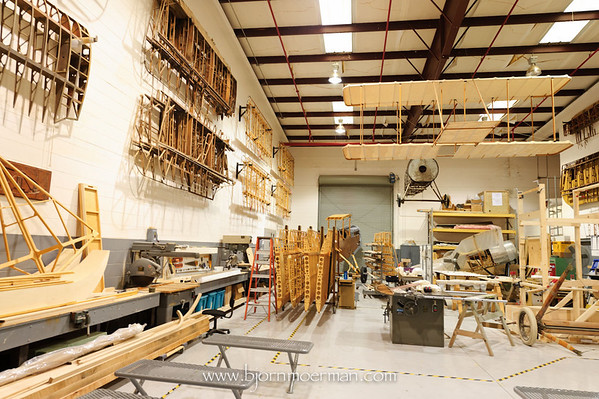 Wood workshop at Fantasy of Flight