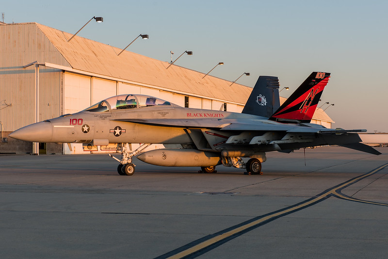 F/A-18F at NAS Lemoore