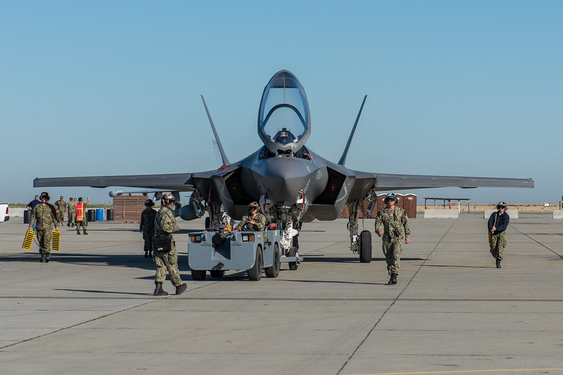 F-35C at NAS Lemoore