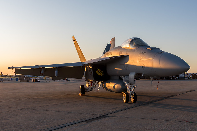 F/A-18E at NAS Lemoore