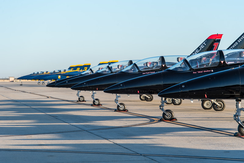 Patriots Jet Team and Blue Angels at NAS Lemoore