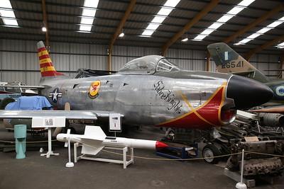 ex-USAF & Greek AF North American F-86D Sabre, 51-6171 - 04/08/18