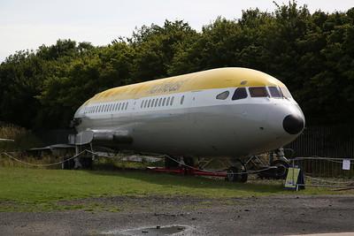 ex-BEA de Havilland Trident 1C, G-ARPO, fuselage only - 04/08/18