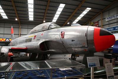 ex-French AF Lockheed T-33A Shooting Star, 55-4439 - 04/08/18