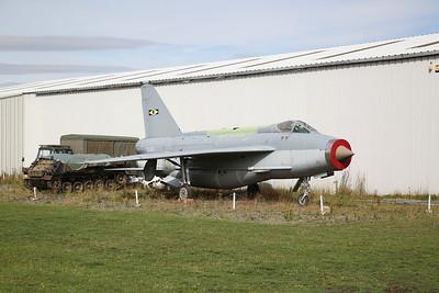 ex-Saudi AF English Electric Lightning F.53, 53-696 (displayed as 'XS933') - 04/08/18