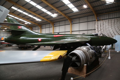 ex-Royal Danish AF Hawker Hunter F.51, E-419 - 04/08/18