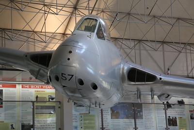 ex-RNZAF De Havilland DH-100 Vampire FB.5, NZ5757 - 21/10/18