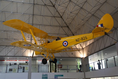 ex-RNZAF De Havilland Tiger Moth MK.II, NZ1481 (displayed as 'NZ-825') - 21/10/18