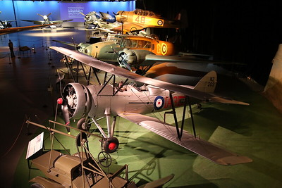 ex-RNZAF Avro 626, NZ203 & other exhibits in the Aircraft Hall - 21/10/18