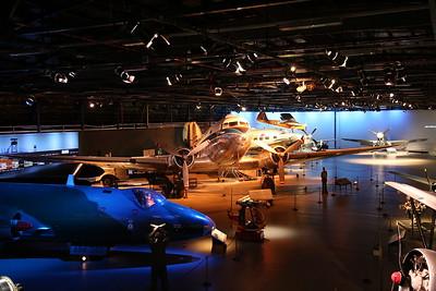 ex-RNZAF Douglas C-47 Dakota, NZ3551 & other exhibits in the Aircraft Hall - 21/10/18