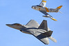 F-22 Raptor & F86 (Heritage Flight)