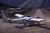 Royal Nepal Airlines de Havilland Canada DHC-6 Twin Otter 300 9N-ABP, November 1990 4.  The airstrip has been paved since my visit.  It is now known as Tenzing-Hillary airport, after the two climbers who first climbed Everest in 1953.