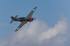 Photo taken March 15, 2008.  A P-40 Kittyhawk performs for the crowd at the Ohakea Airshow near Bulls, NZ.