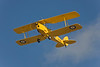Photo taken March 15, 2008.  A DeHavilland Tiger Moth performs for the crowd at the Ohakea Airshow near Bulls, NZ.
