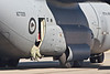 Photo taken March 15, 2008.  A Royal New Zealand Air Force C-130 taxis back following a demonstration flight at the Ohakea Airshow near Bulls, NZ.
