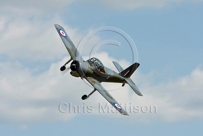 Percival P-56 Provost T1, reg G-KAPW, at Old Warden