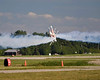"Photo taken August 2, 2008.  The ""Iron Eagles"" aerobatic team making a head-on pass at EAA AirVenture 2008."
