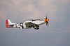 "Photo taken August 1, 2008.  P-51D Mustang ""Old Crow"" takes off at EAA AirVenture 2008."