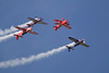 "Photo taken August 1, 2008.  ""The Collaborators"" airshow team at EAA AirVenture 2008."