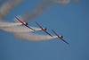Photo taken August 2, 2008.  The Aeroshell Aerobatic Team performs at EAA AirVenture 2008.