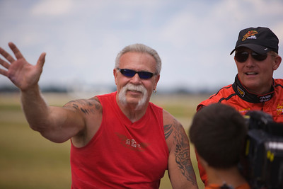 American Chopper's Paul Teutul Sr. at EAA AirVenture 2009.