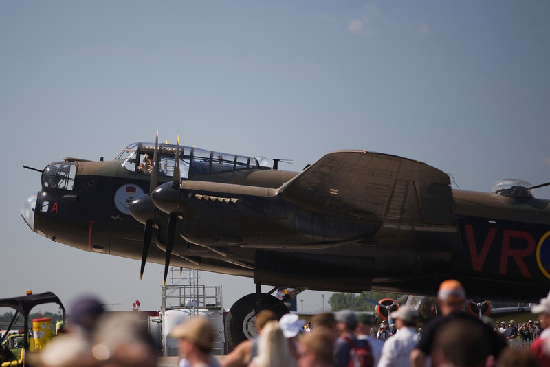 Avro Lancaster at EAA AirVenture 2009.